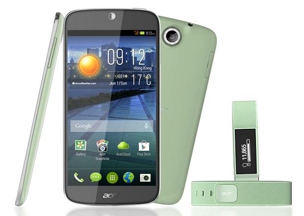 Acer Liquid Jade Plus with Liquid Leap wearable
