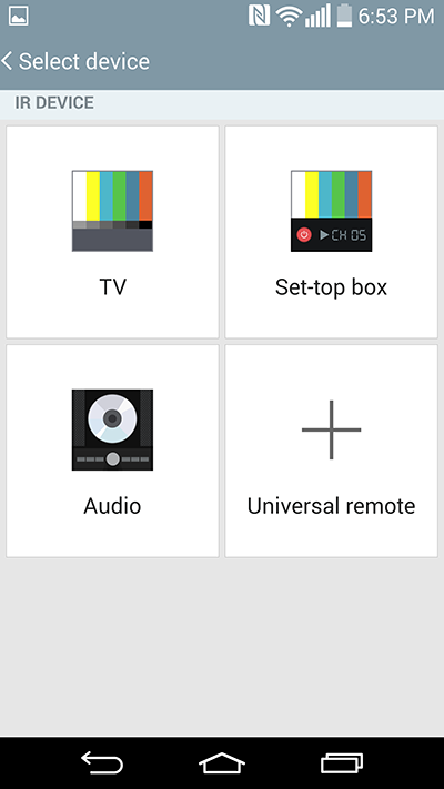 Control-TV-Radio-AIrcon-G3-Android-Phone