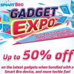 Smart Bro Gadget Expo: get up to 50% off on the latest gadgets