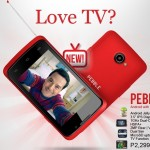 Cherry Mobile Pebble: Android smartphone with TV function for Php2,299