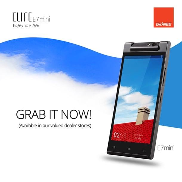Gionee-Elife-E7-Mini-Philippines