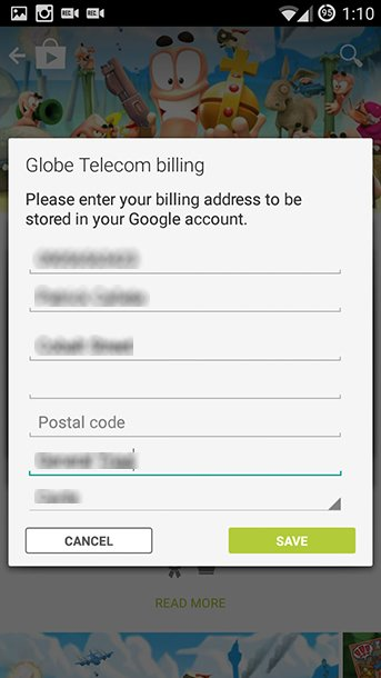 How to purchase Apps and Games on Google Play using Globe Prepaid Load (7)