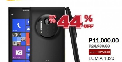 Nokia Lumia 1020 deal