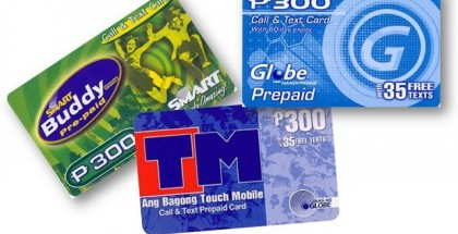 Prepaid Loading Cards