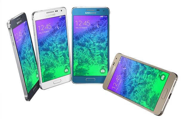 Samsung Galaxy Alpha color variants