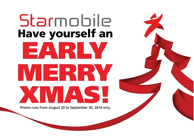 Starmobile Early Merry Xmas