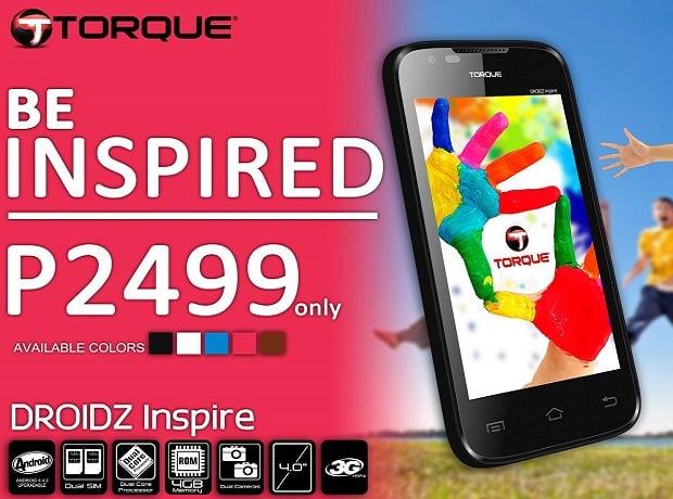 Torque Droidz Inspire