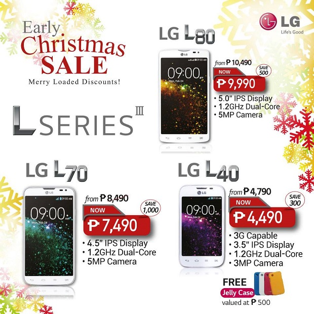 Depending on the phone, savings range from Php300 ot Php5,000. Besides