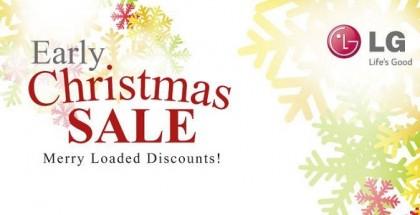 LG early Christmas sale