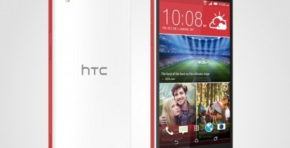 HTC Desire Eye back, front