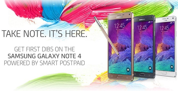 Smart Samsung Galaxy Note 4