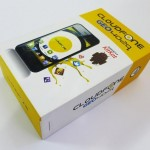 Cloudfone Geo 402q box and accessories