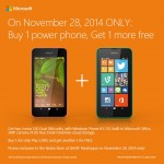 Microsoft PH announces Nokia Lumia 530 Buy 1 Take 1 Promo