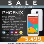 SKK Phoenix X1 Php5,499 octa-core smartphone to launch on November 5