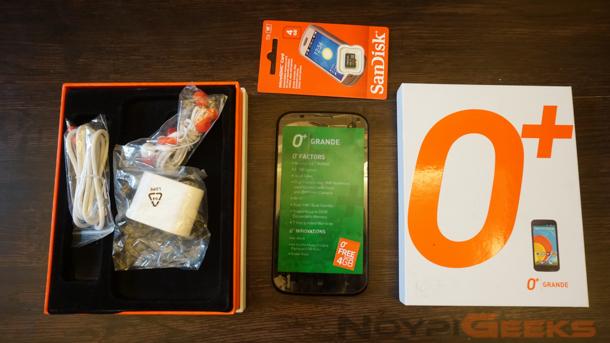 O+ Grande Box and Accessories