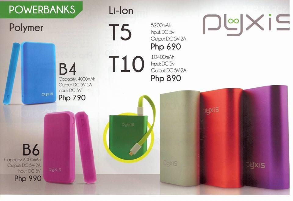Pyxis Power Banks
