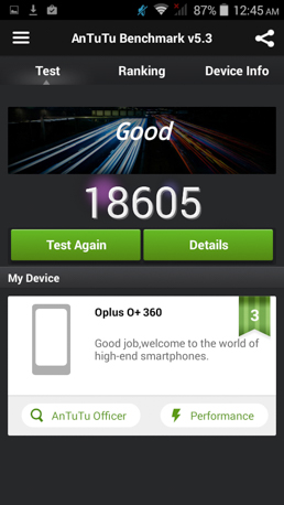 O+ 360 benchmarks