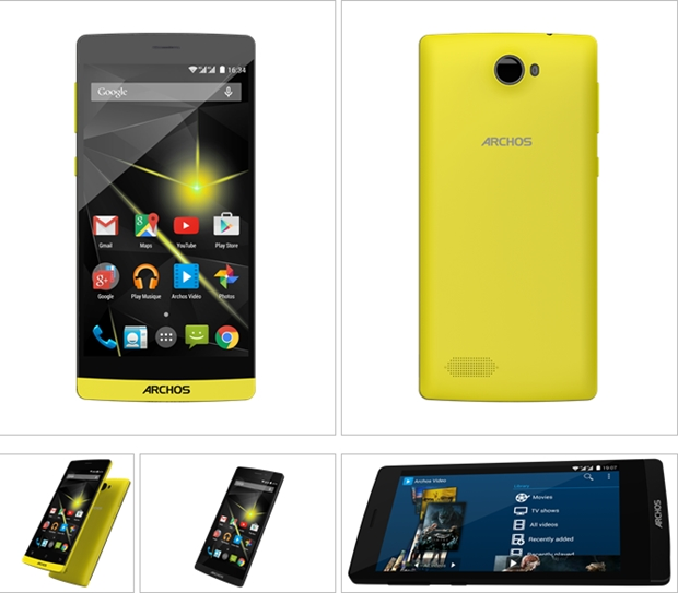 Archos 50 Diamond smartphone and new Helium tablets announced ...