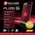 Cherry Mobile Fuze S: Octa-core CPU, 1GB RAM, 4000mAh battery