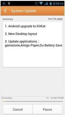 Kitkat-update-Gionee-P4
