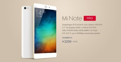 Mi-Note-Pro-Specs-Features