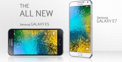 Samsung Galaxy E5, Galaxy E7
