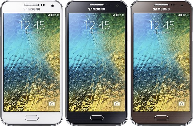 Samsung Galaxy E5 colors
