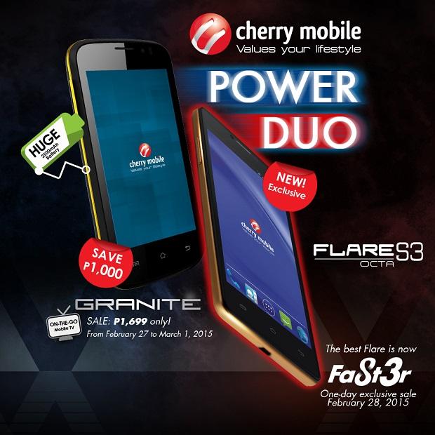 Cherry Mobile Flare S3 Octa promo