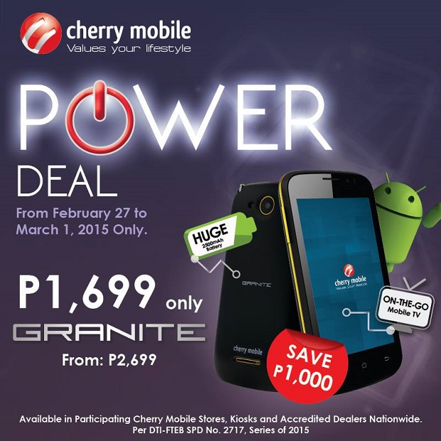 Cherry Mobile Granite full