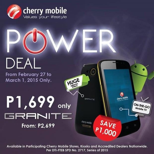 Cherry Mobile Granite full