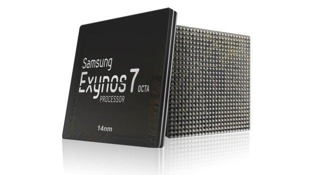 Samsung Exynos 7 octa processor 14nm process