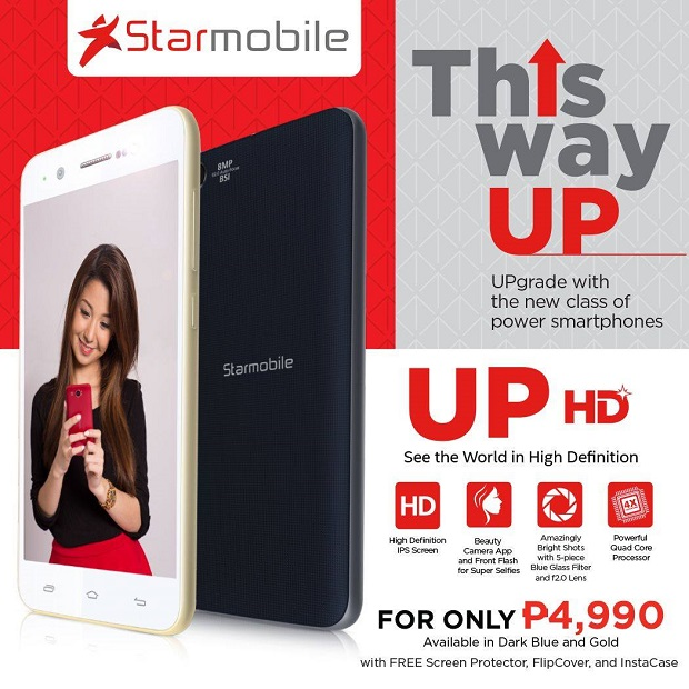 Starmobile Up HD features