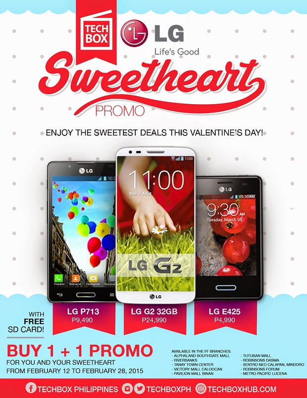 Techbox Sweetheart Promo Buy 1 Take 1 full
