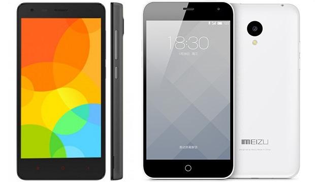 Xiaomi Redmi 2 vs Meizu m1