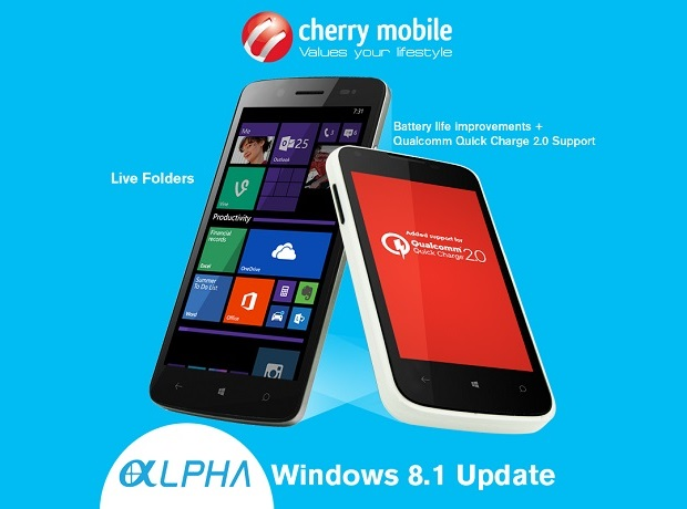 Cherry Mobile Alpha Windows 8.1 Update
