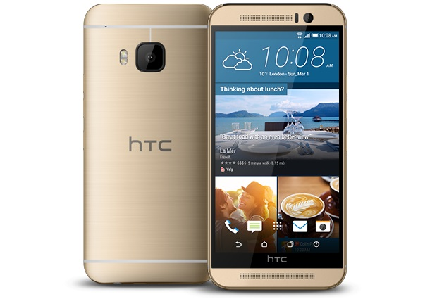 HTC One M9 gold