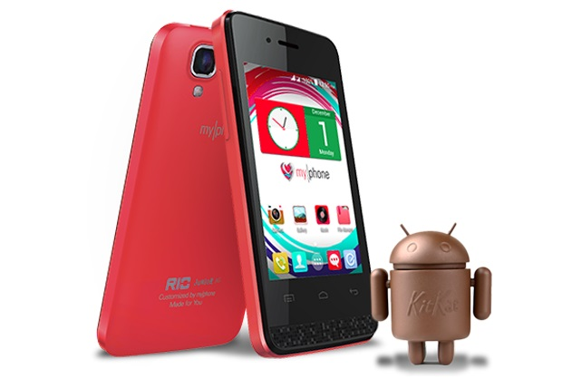 MyPhone Rio Junior 3G kitkat