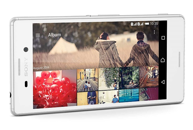 Sony Xperia M4 Aqua: mid-range smartphone with two-day battery life