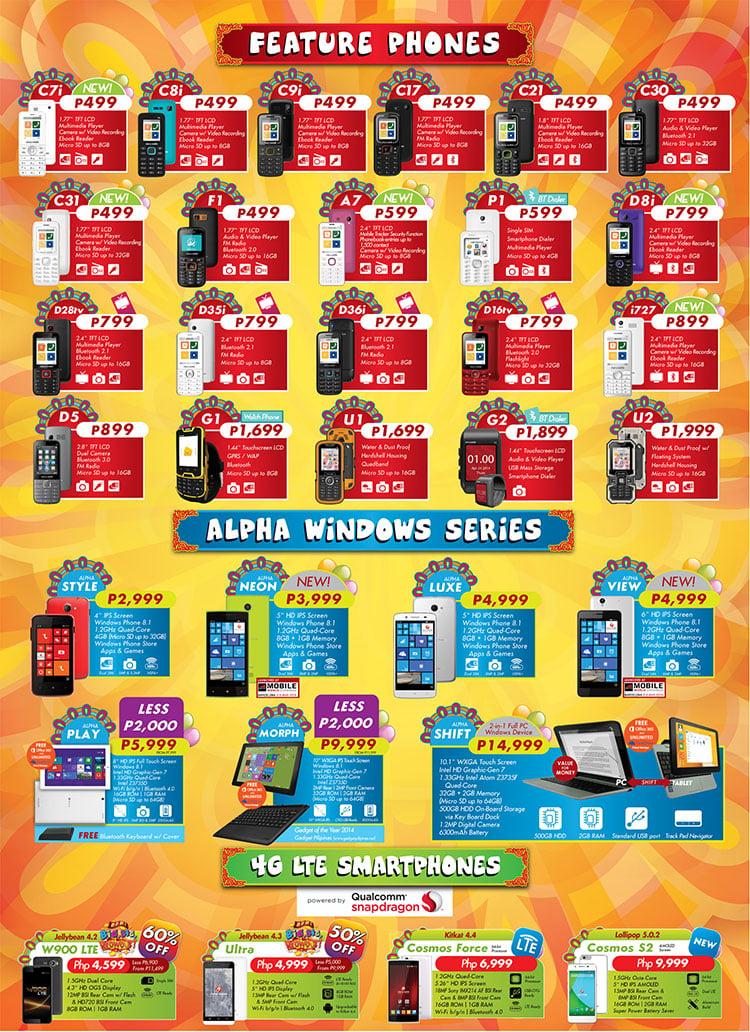 cherry mobile android phones price list philippines 2013 estimates