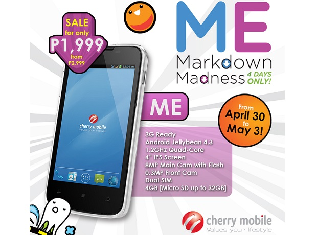 Cherry Mobile ME Markdown Madness