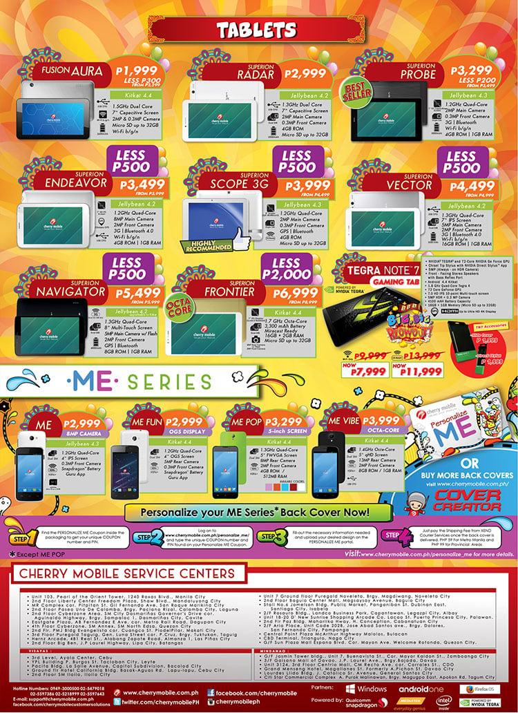 Cherry Mobile Fiesta 2015 Price List Revealed Noypigeeks