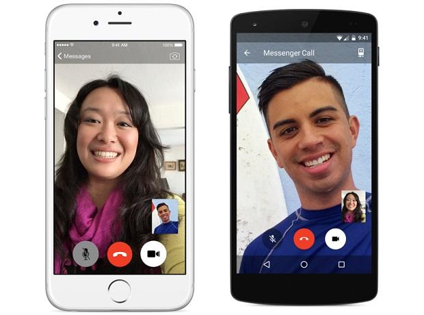 Facebook Messenger app video call