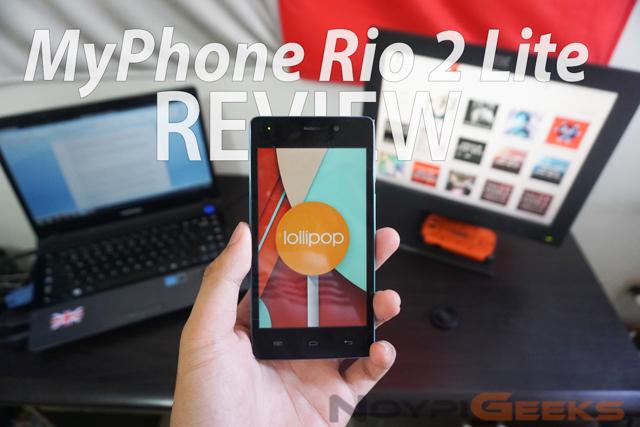 MyPhone Rio 2 Lite Review - NoypiGeeks