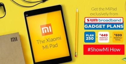 Xiaomi Mi Pad Sun Broadband Gadget Plans