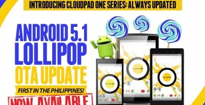 Cloudfone CloudPad One Series