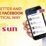 Enjoy free Facebook with Sun Cellular