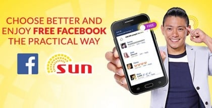 Free Facebook with Sun Cellular