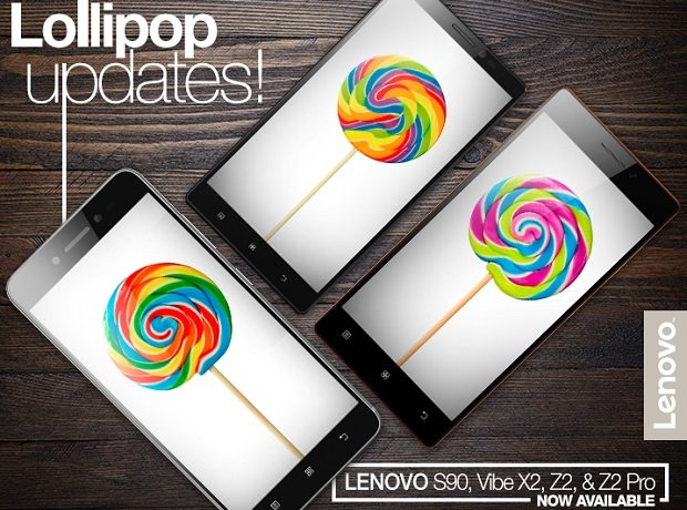 Lenovo S90, Vibe X2, Z2, Z2 Pro Android Lollipop update