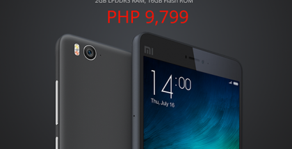 XIaomi Mi4i Philippine Pricing