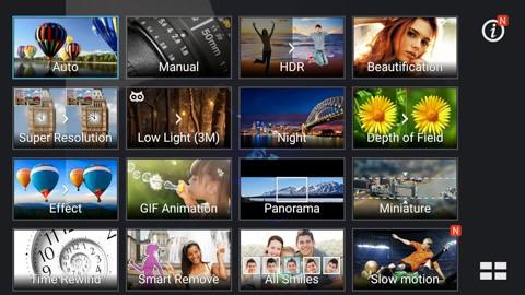 Asus Zenfone Selfie Camera features